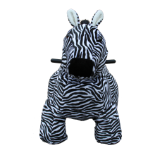 coin operated zebra rides
