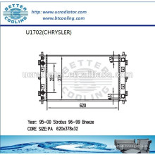 Радиатор для CHRYSLER STRATUS 95-00 OEM: 4596399AA / 4596400AA