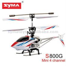 SYMA S800G helicóptero de 4 canales Nueva syma avión de control remoto