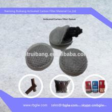 fabricación de malla de filtro de carbón activado de buena calidad