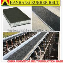 Sólido de correia transportadora PVG1400S tecido para resistência mina de carvão
