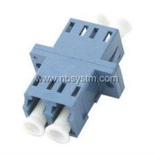 LC/PC Singlemode duplex flange adapter