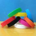 Mix solid colors wristbands , custom colors blank bracelet