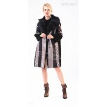 Black Australian Merino Shearling jacket