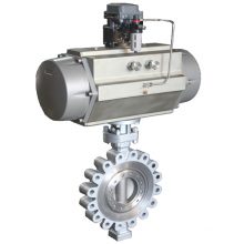 ZSHW High Performance Wafer Lug Pneumatic Butterfly Valve