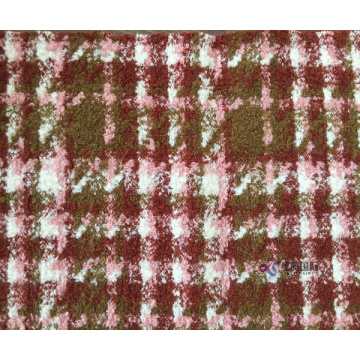 Kain Grid Custom Tweed Blended Fabric