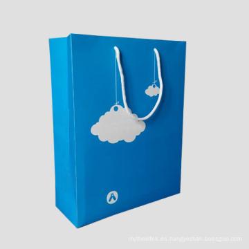 Bolsas de papel Nuevo diseño de patrón de regalo