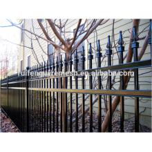Hochwertiges Sprühen Plastik Sharp-Top Stahl Zaun