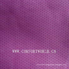 Embossed Suede Fabric