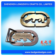 High Quality Metal Custom Belt Buckles Manufacturers, Logo Name Cheap Custom Belt