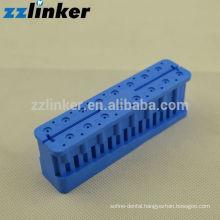 New endo measure clean sterilize block /plastics test board blue