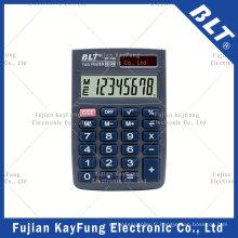 Calculateur de taille de poche à 8 chiffres (BT-100)