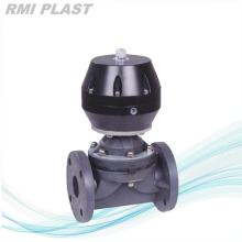 PVDF Pneumatic Diaphragm Valve Single Acting