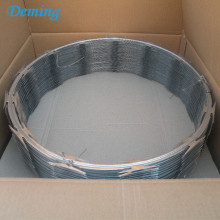 Hot Sale Galvanized Razor Barbed Wire Price