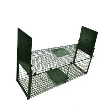 Factory Supplier High quality galvanized or PVC coated Humane live multi mouse trap cage