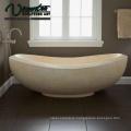 2018 New Freestanding White Marble Bathtub Price For Sale