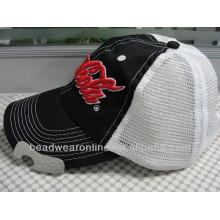 Custom Flaschenöffner Stickerei Baseball Caps aus 100% Baumwolle