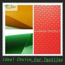 Tecido de malha de PVC retardante de fogo / capota de tecido
