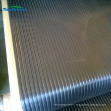 wide ribbed rubber sheet and mat and anti slip rubber matting