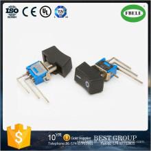 On-on Sub-Miniature Rocker e Lever Handle Switch, Mini Rocker Switch, Small Toggle Switch