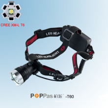 10W 400lm CREE T6 High Power Headlamp (POPPAS- T60)