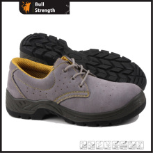 Ce Certificate Low Cut Suede Leather Safety Shoe (SN5302)