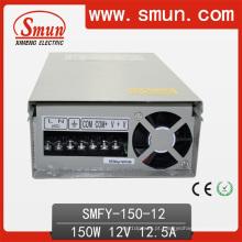 Fonte de alimentação de comutação a prova de chuva LED de 150W 12V15V24V48V