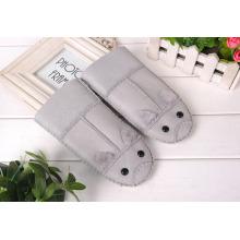 Kid Winter Warm Leather Gloves Children's Winter Windproof Soft Gloves For Boy Girls