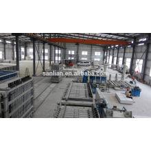 Nuevo panel de pared de hormigón de espuma de la tecnología que hace el precio de la máquina en China