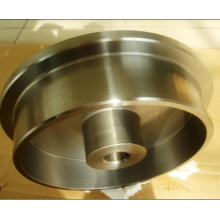 Roue motrice en acier inoxydable avec usinage CNC