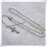 Different Beads Material and Saint Catholic Glass Rosary (IO-cr002)