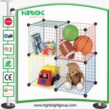 Household Stackable Storage Wire Mesh Containers