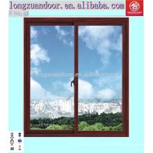 Fenêtres en aluminium coulissantes parfaites et doodrs / fabriquées en Chine / meilleur prix