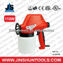 JS profissional pistola de tinta de látex 110W