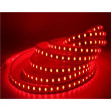 luz de tira conduzida rgb amarela vermelha da decoração 5050 da cor verde de decoração