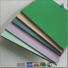 Panel compuesto de aluminio de color cepillado