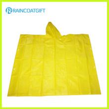 Vêtements de pluie promotionnels PVC transparent Rvc-184