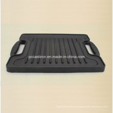 Cast Iron Griddle Pan Size 27X21cm