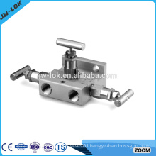 Stainless steel instrument air manifold
