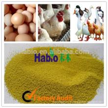 Solution spéciale adaptée aux additifs d'alimentation des couches d'œufs