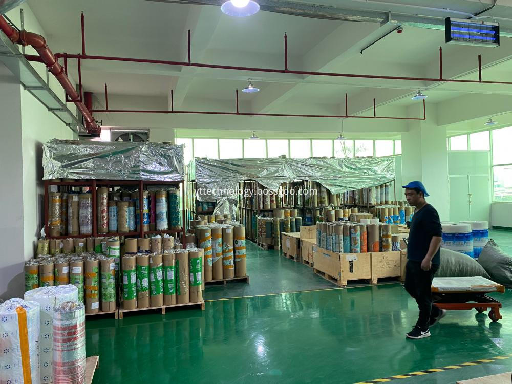 Raw Material Stacking Area