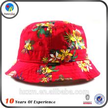 floral kids custom bucket hats