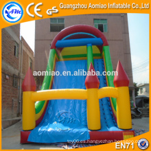 Diapositiva inflable del PVC, diapositiva seca, diapositiva inflable barata para la venta