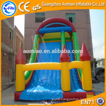 PVC inflatable slide, dry slide,cheap inflatable slide for sale