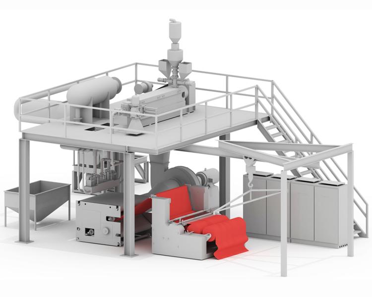 New Design Non-woven Fabric Making Machine