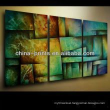 Colorful Abstract Painting on Canvas for sale