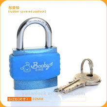 Fornecedores China Top Quality Rubber Cover Aluminum Padlock ABS Lock