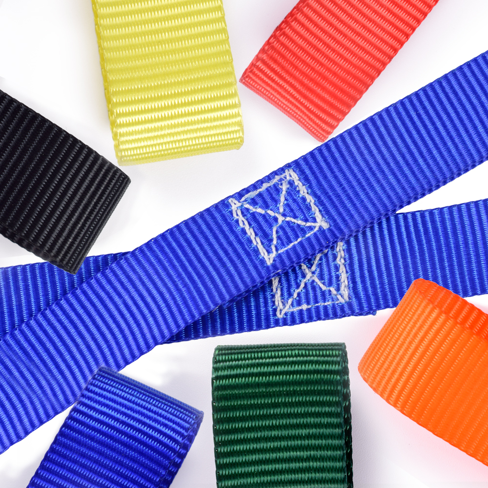 25mm Colorful Polyester Walking Rope Strap With 12 Loops For 12 Kids