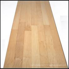 Plancher de bois d'érable massif compétitif