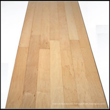 Competitive Solid Maple Wood Flooring